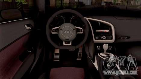 Audi R8 V10 Plus for GTA San Andreas