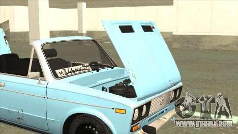 VAZ 21063 Old rusty convertible for GTA San Andreas