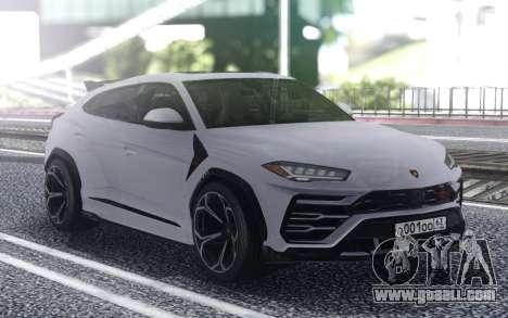 Lamborghini Urus 2019 for GTA San Andreas