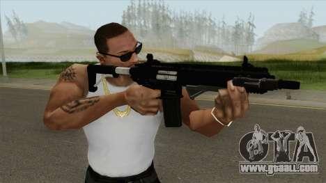 Carbine Rifle GTA V Default (Flashlight, Grip) for GTA San Andreas