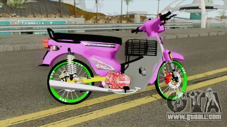 Honda C70 GBO J Alloy Godzilla for GTA San Andreas
