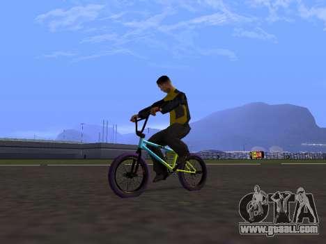 BMX by Osminog for GTA San Andreas