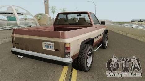 Declasse Rancher GTA IV (SA Style) for GTA San Andreas