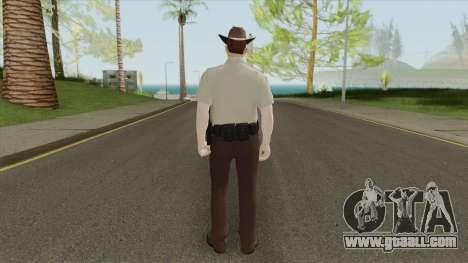Arklay County Sheriff V2 Resident Evil 2 Remake for GTA San Andreas