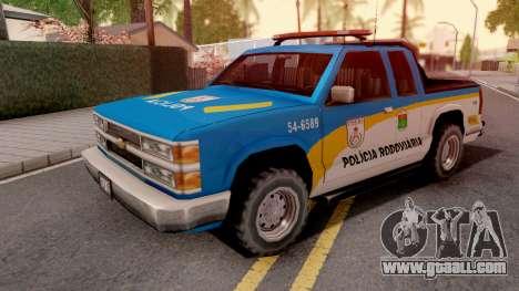 Chevrolet S-10 Policia Rodoviaria for GTA San Andreas