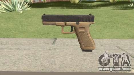 Glock 17 Tan for GTA San Andreas