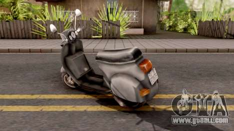 Faggio GTA VC Xbox for GTA San Andreas