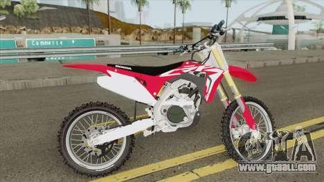 Honda CRF450R 2019 for GTA San Andreas