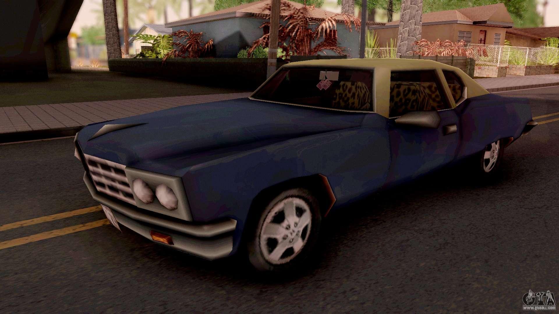 Yardie Lobo GTA III for GTA San Andreas