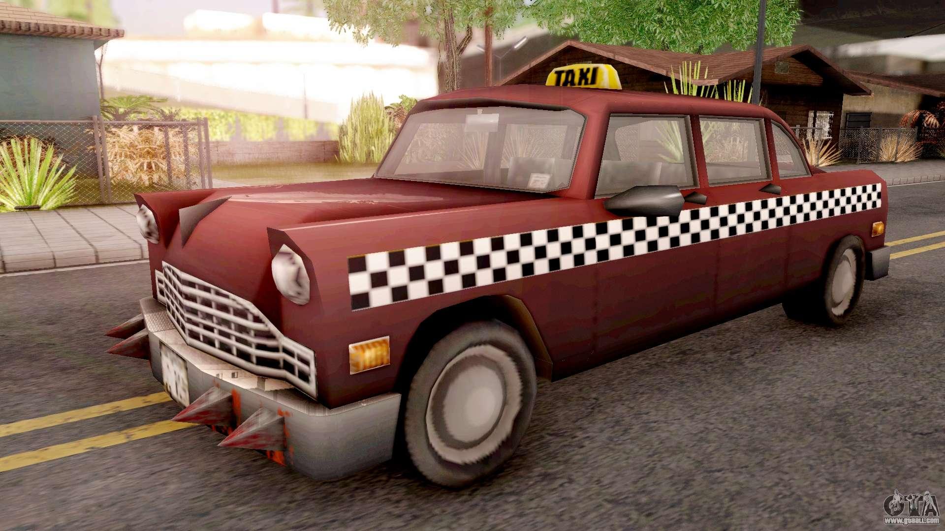 Borgine Cab from GTA 3 for GTA San Andreas