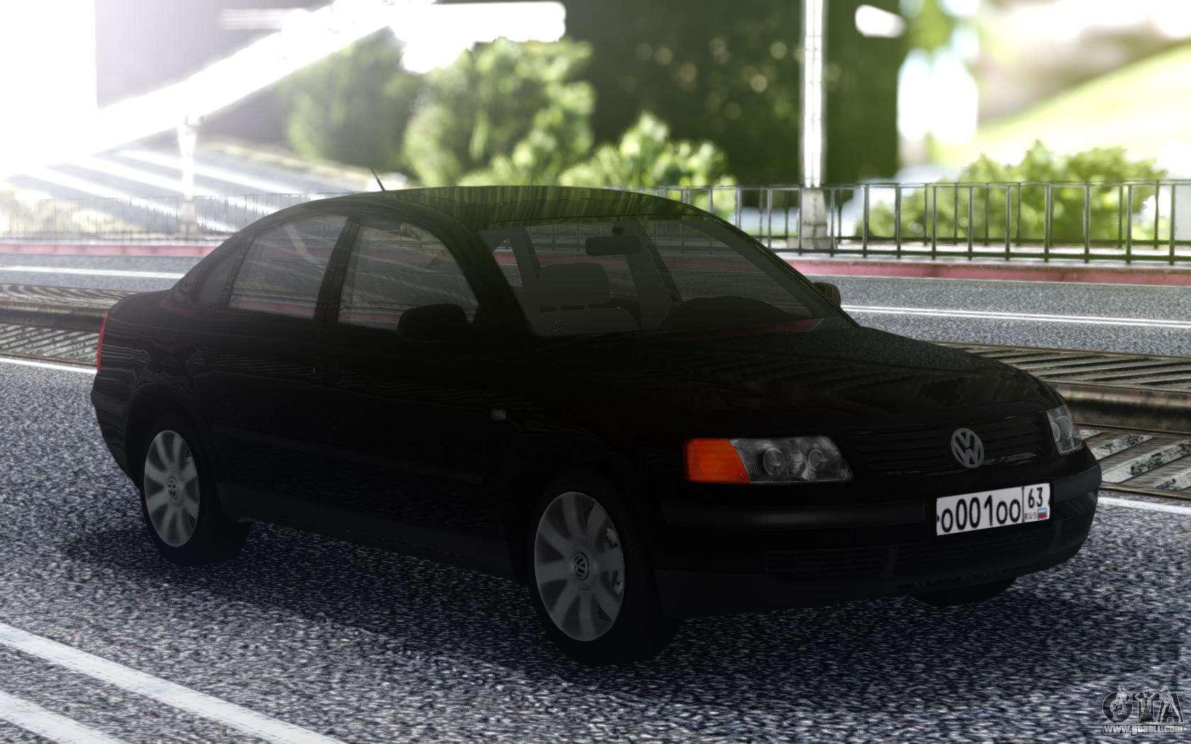 Volkswagen Passat B5 Sedan For Gta San Andreas