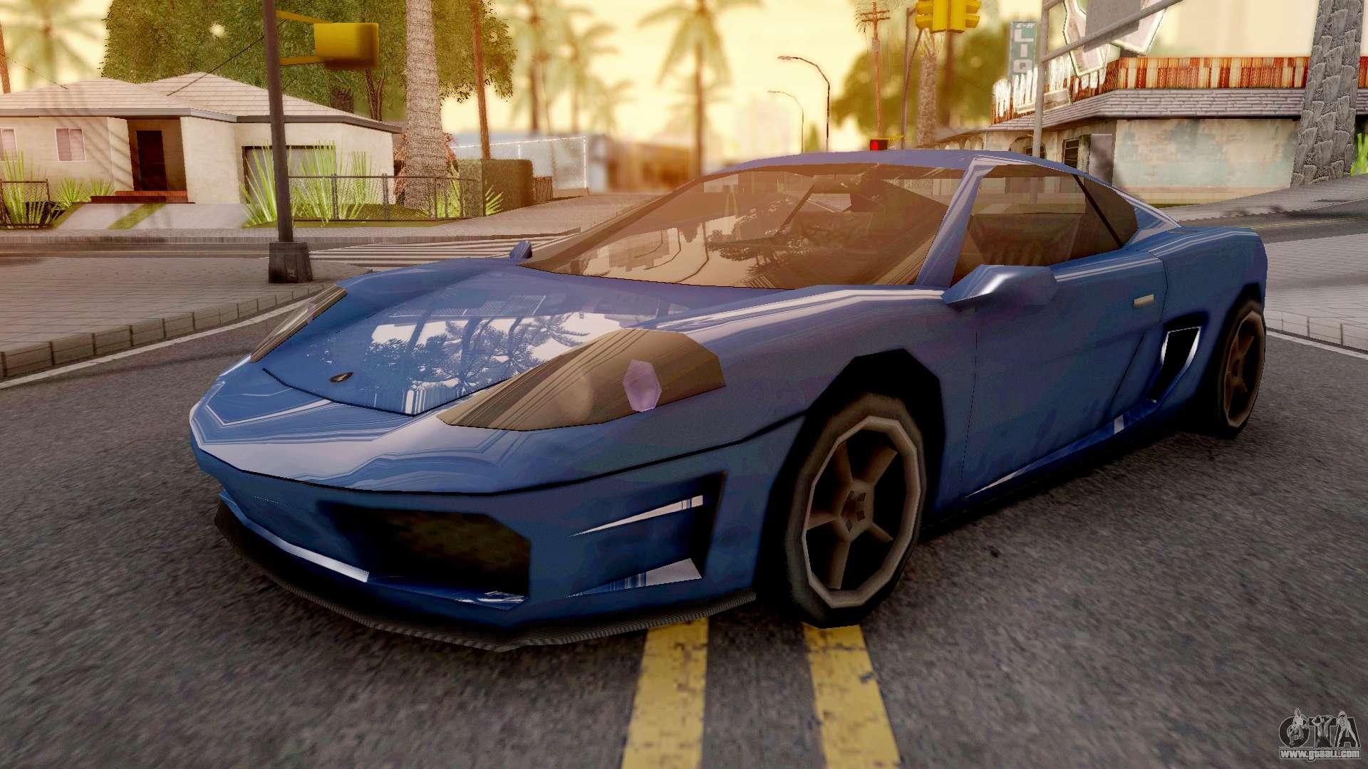 Turismo GTA IV for GTA San Andreas