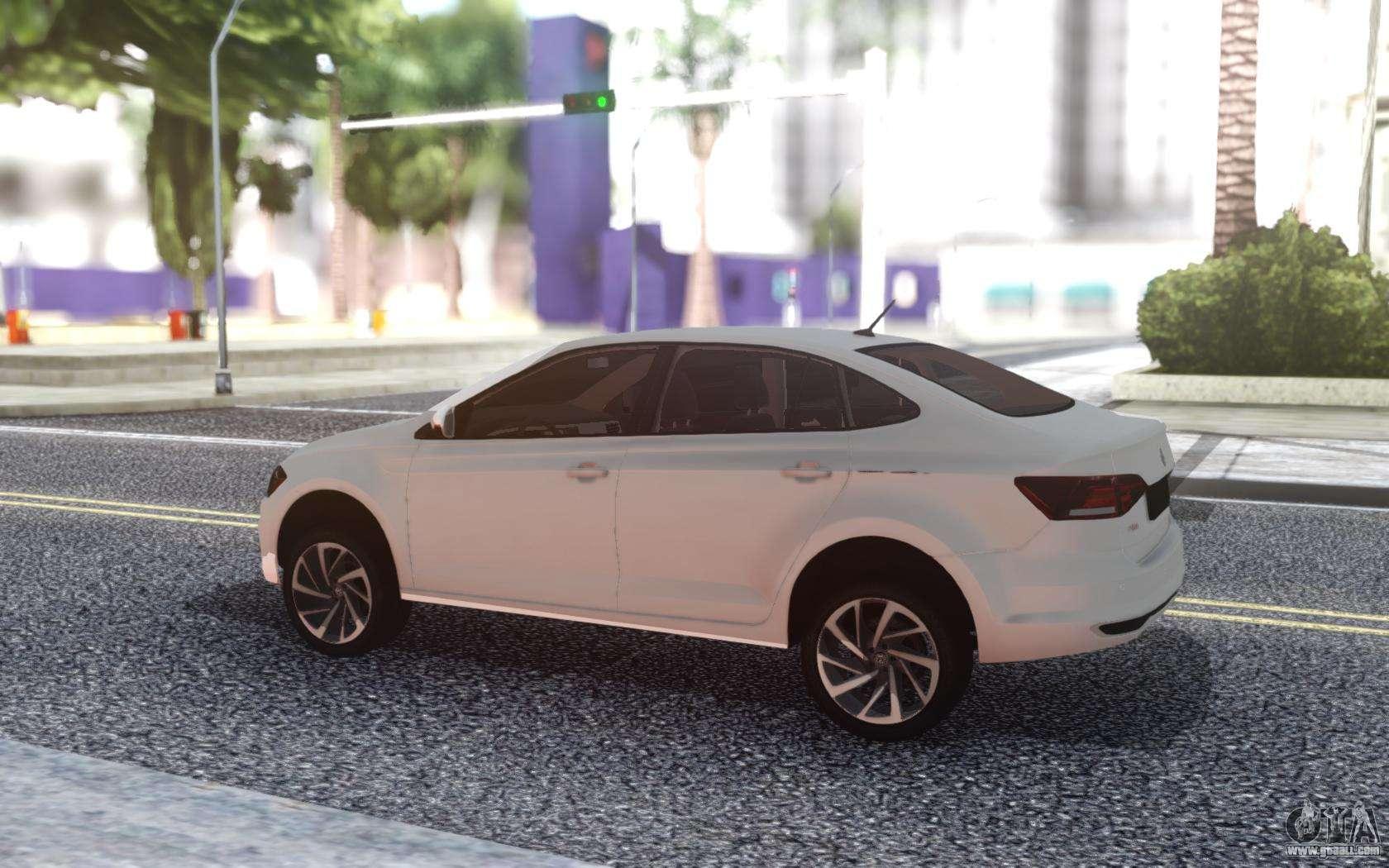 Volkswagen Polo 2019 Stock For GTA San Andreas