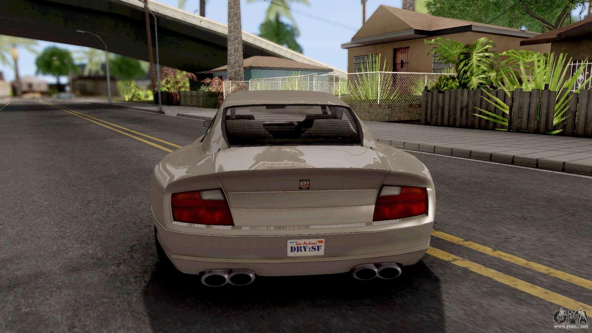 GTA IV Pfister Alterego IVF for GTA San Andreas