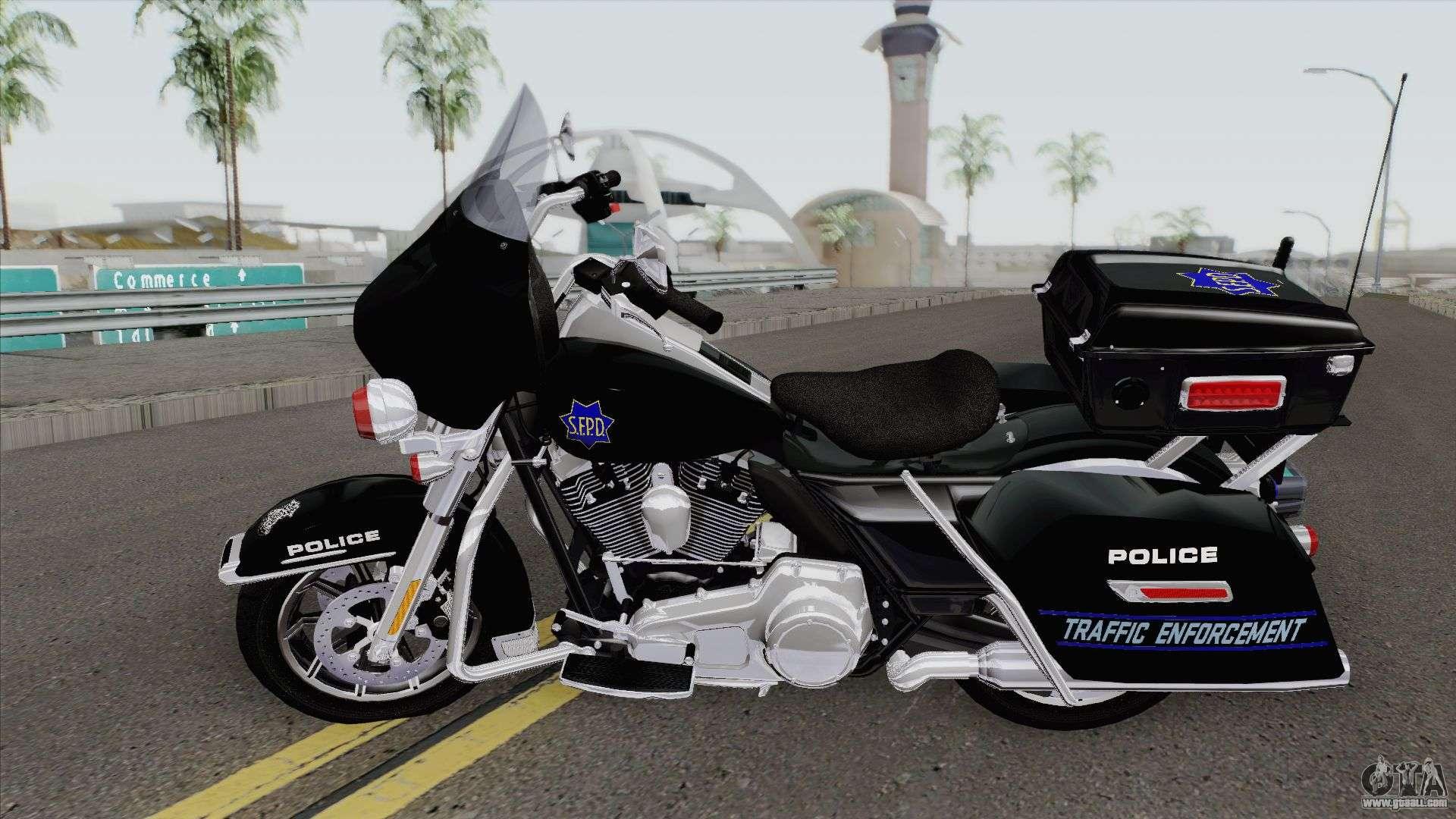Harley-Davidson FLHTP - Electra Glide Police 2 for GTA San