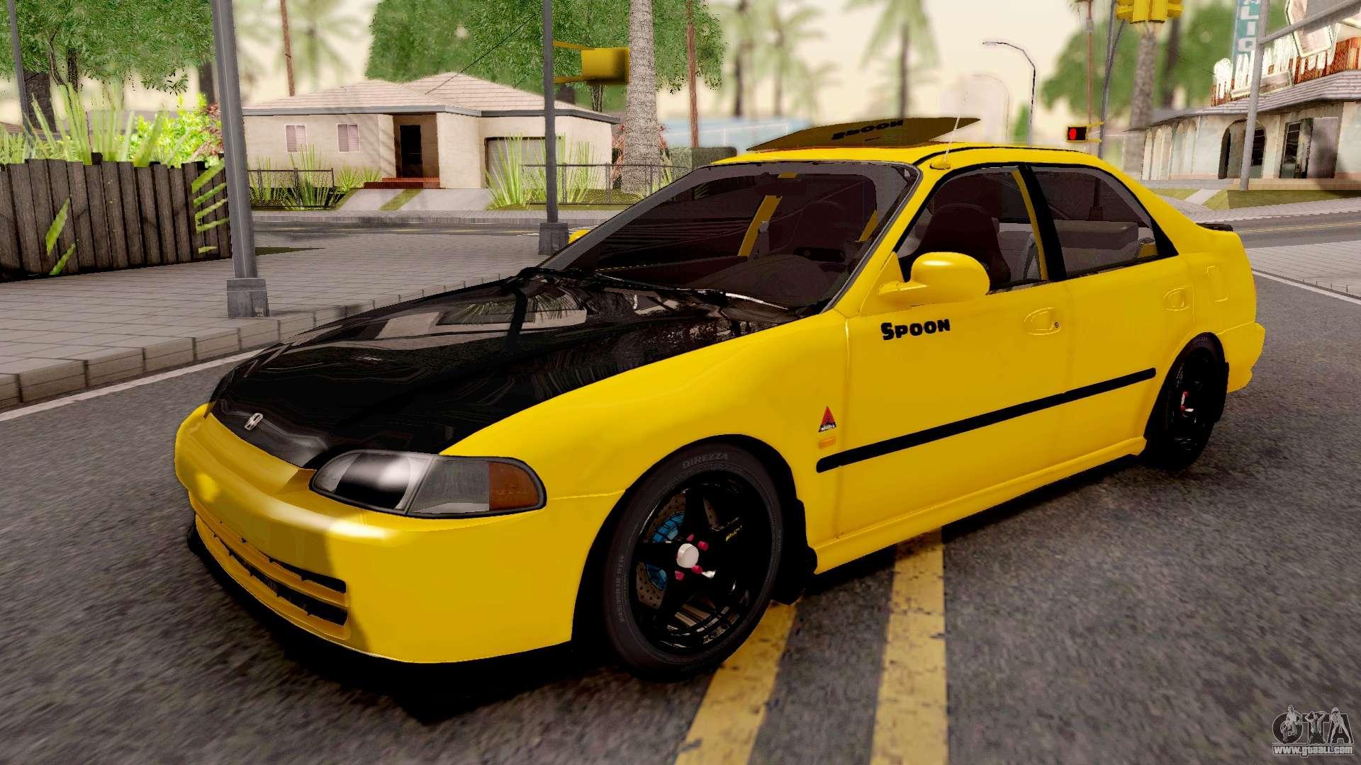 Honda Civic Eg9 Ferio Malaysian Kanjo Style For Gta San Andreas