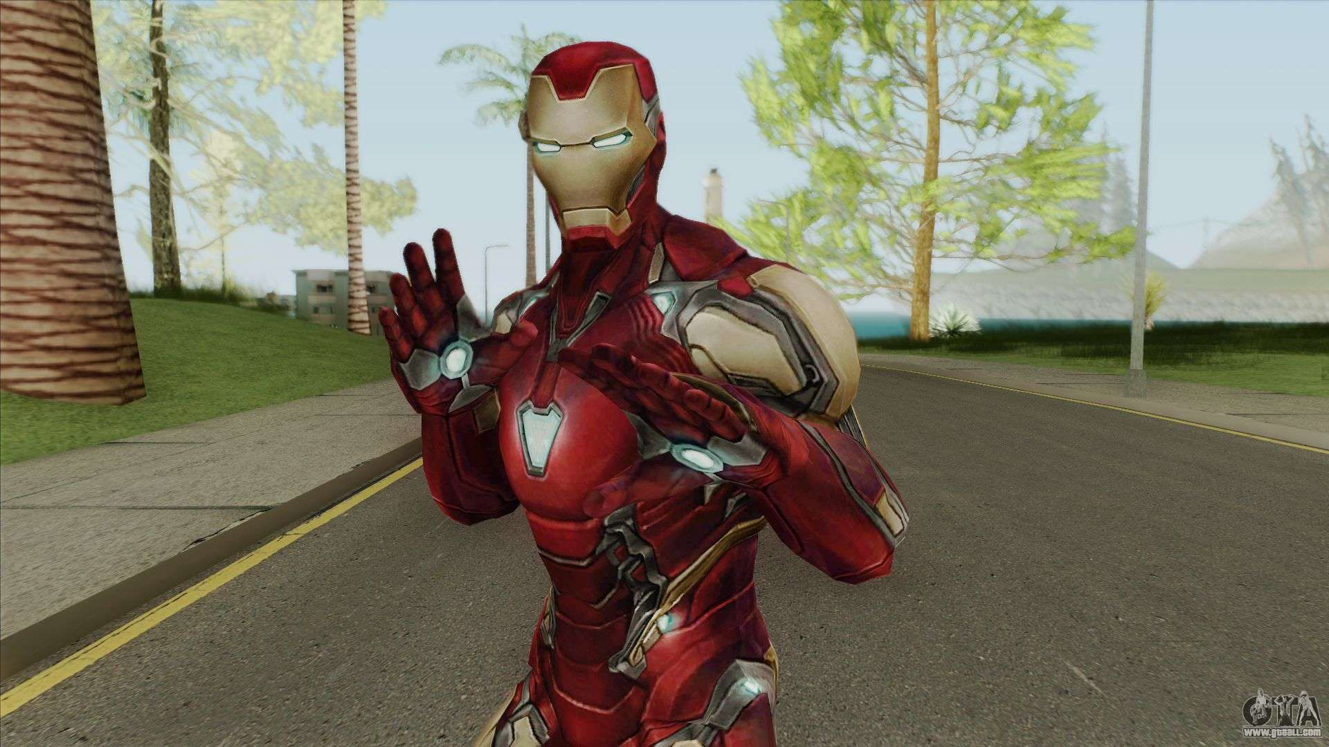 Ironman (Avengers: Endgame) for GTA San Andreas