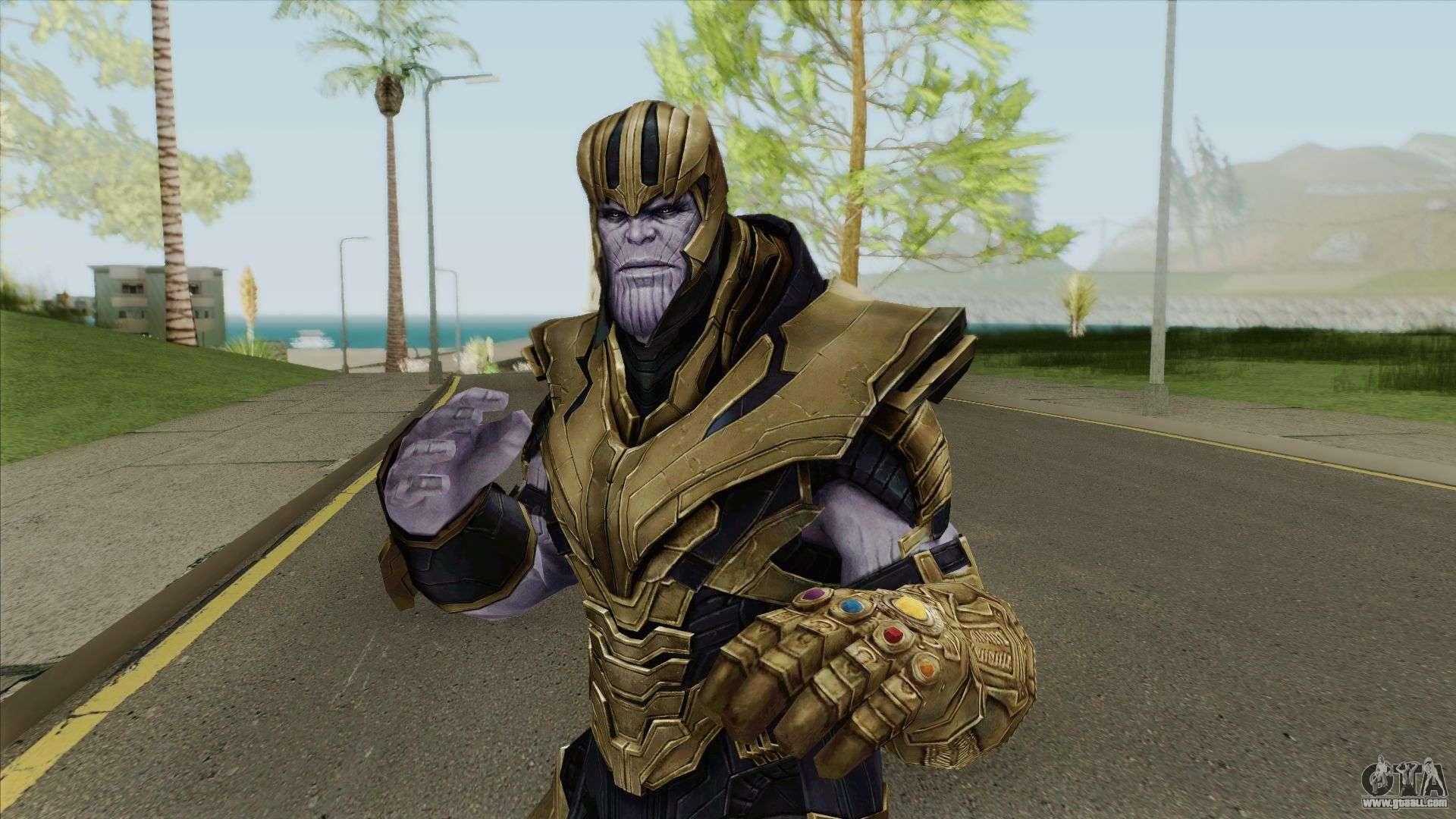 Thanos (Avengers: Endgame) for GTA San Andreas