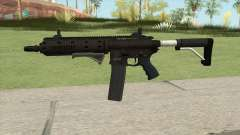Carbine Rifle GTA V Extended (Flashlight, Grip) for GTA San Andreas