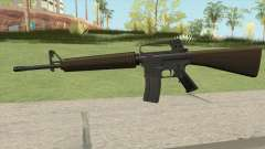 M16A2 Partial Desert Camo (Stock Mag) for GTA San Andreas