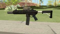 Carbine Rifle GTA V V3 (Silenced, Tactical) for GTA San Andreas
