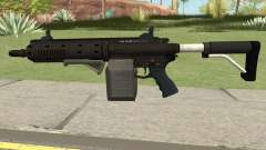 Carbine Rifle GTA V Box (Flashlight, Grip) for GTA San Andreas