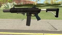 Carbine Rifle V3 (Flashlight, Grip, Silenced) for GTA San Andreas
