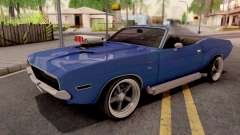 Dodge Challenger Cabrio 1970 for GTA San Andreas