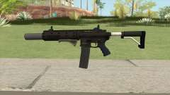 Carbine Rifle GTA V Extended (Grip, Silenced) for GTA San Andreas