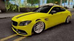 Mercedes-Benz C63S Coupe for GTA San Andreas