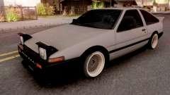Toyota Trueno AE86 1986 Grey for GTA San Andreas