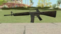 M16A2 Partial Jungle Camo (Stock Mag) for GTA San Andreas