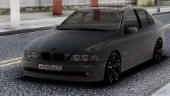 BMW 540i E39 Chrome for GTA San Andreas
