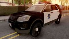 Ford Explorer 2016 SFPD for GTA San Andreas