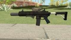 Carbine Rifle V2 (Grip, Silenced, Tactical) for GTA San Andreas