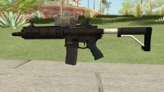 Carbine Rifle GTA V V2 (Flashlight, Tactical) for GTA San Andreas