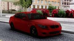 BMW M5 E60 Sedan Red for GTA San Andreas