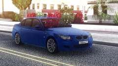 BMW M5 E60 Sedan Blue for GTA San Andreas