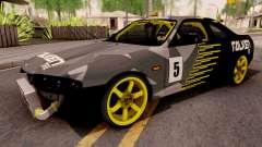 Nissan Skyline R33 Drift Falken Camo v2 for GTA San Andreas