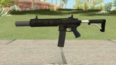 Carbine Rifle GTA V V3 (Silenced, Flashlight) for GTA San Andreas