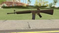M16A2 Full Desert Camo (Stock Mag) for GTA San Andreas