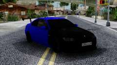 BMW M3 E92 Black & Blue for GTA San Andreas