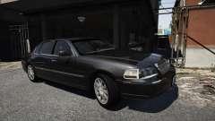 Lincoln TownCar 2010 v1 for GTA 5