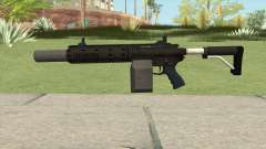Carbine Rifle GTA V Silenced (Box Clip) for GTA San Andreas