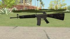 M16A2 Partial Forest Camo (Stock Mag) for GTA San Andreas