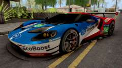 Ford Racing GT Le Mans Racecar for GTA San Andreas