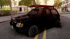 Fiat Uno Mille Fire v2 for GTA San Andreas