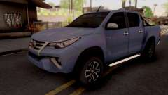 Toyota Hilux Front Fortuner 2018