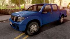 Nissan Frontier Blue for GTA San Andreas