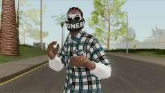Black Guy Skin V2 for GTA San Andreas